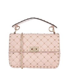 Studded Chain Shoulder Bag