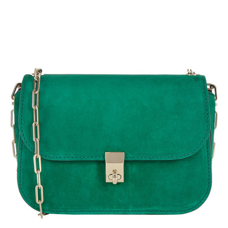 Link Chain Shoulder Bag, ${color}