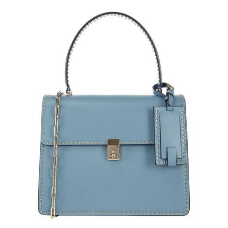 Rockstud Top Handle Bag, ${color}