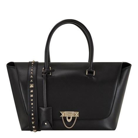 Demi Luna Flap Bag Large, ${color}