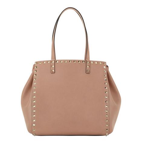 Double Handle Rockstud Bag, ${color}