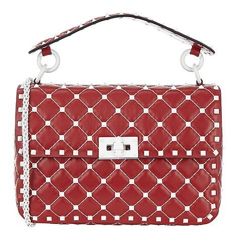 Free Rockstud Shoulder Bag, ${color}