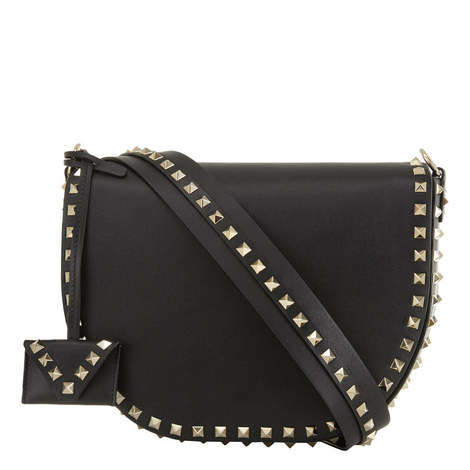 Rockstud Saddle Bag, ${color}