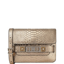 Classic Python Shoulder Bag