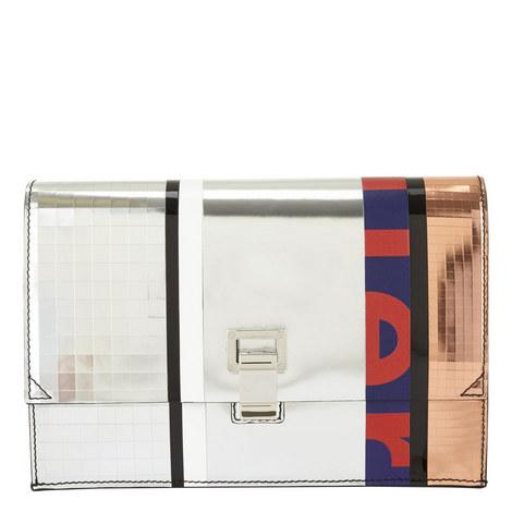 Metallic Lunch Clutch Bag, ${color}