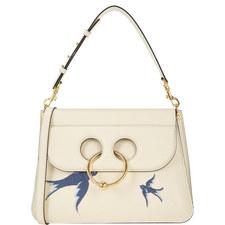 Swallow Embellished Pierce Bag Medium