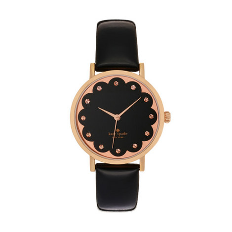 Metro Scalloped Watch, ${color}