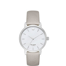 Metro Saffiano Leather Watch