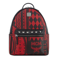 Print Studded Backpack Small