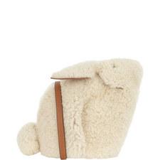 Shearling Bunny Mini Bag