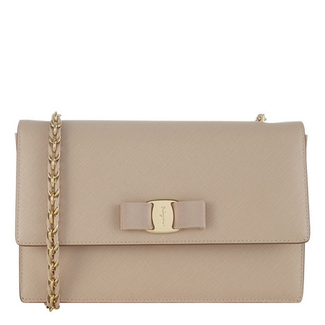 Vara Ginny Leather Bag, ${color}