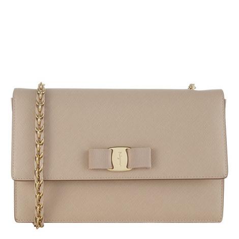 Vara Ginny Leather Bag, ${color}
