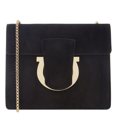 Thalia Suede Shoulder Bag, ${color}