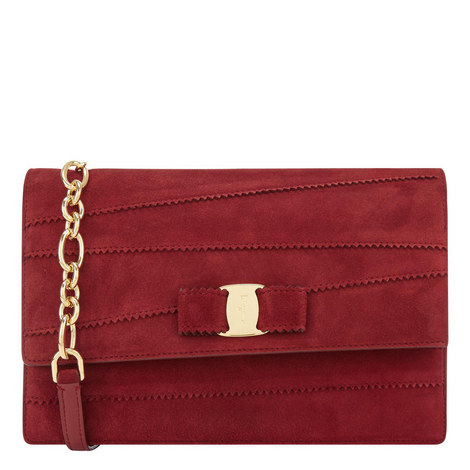 Vara Ginny Dentelle Crossbody Bag, ${color}