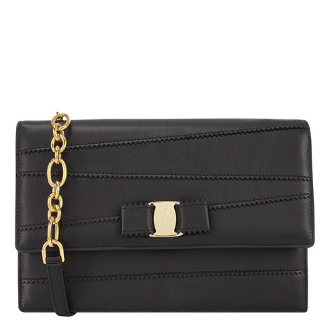 Vara Ginny Dentelle Crossbody Bag, ${color}