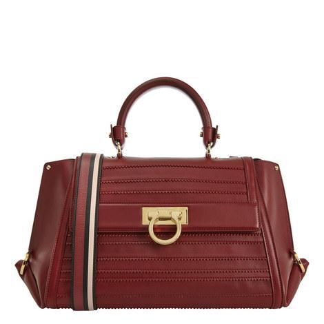 Sofia Leather Shoulder Bag, ${color}