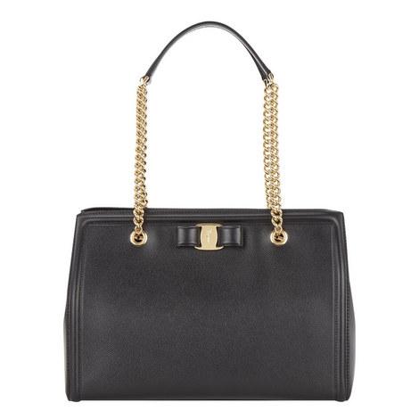 Melike Chain Shoulder Bag, ${color}