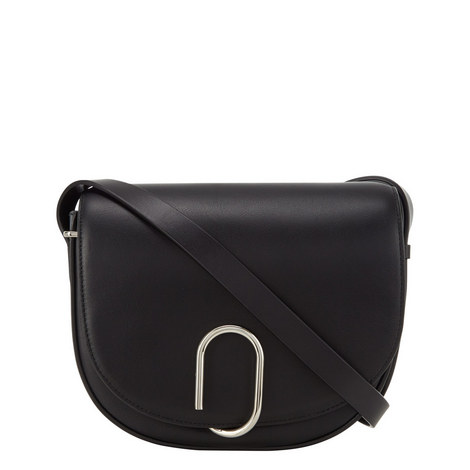 Alix Soft Flap Saddle Bag, ${color}