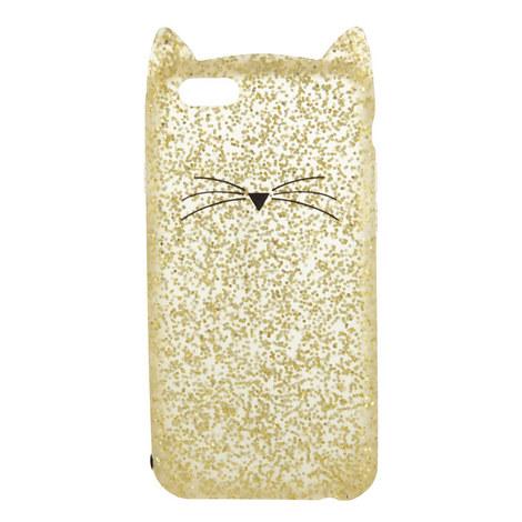 Glitter Cat iPhone 6 Case, ${color}