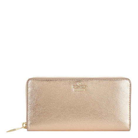 Highland Drive Lacey Zip-Around Wallet, ${color}