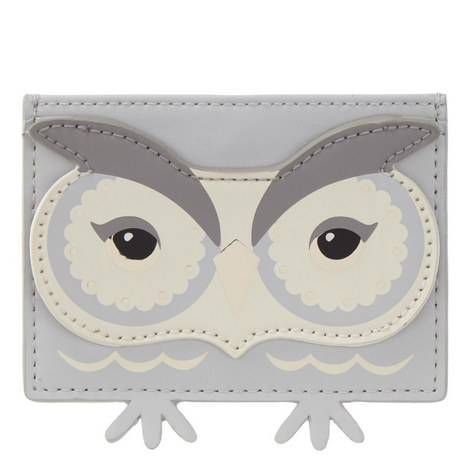 Star Bright Owl Card Holder, ${color}