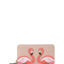 By The Pool Flamingo Lacey Wallet