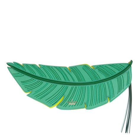 Flights Of Fancy Banana Leaf Clutch, ${color}