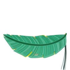 Flights Of Fancy Banana Leaf Clutch
