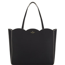 Rain Scallop Shopper Bag