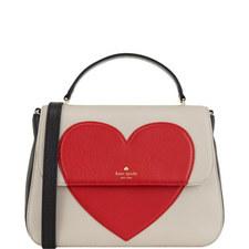 Alexya Heart Shoulder Bag