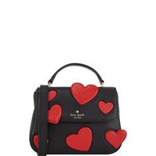 Alexya Heart Crossbody Bag Small