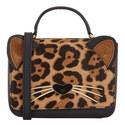 Run Wild Leopard Cat Bag, ${color}