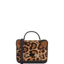Run Wild Leopard Cat Bag