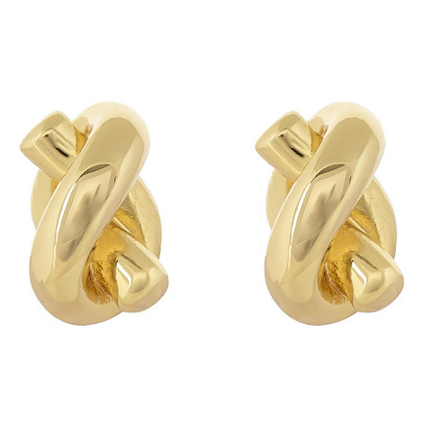 Sailor's Knot Stud Earrings, ${color}