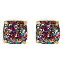 Glitter Stud Earrings, ${color}