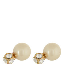 Crystal Pearl Earrings