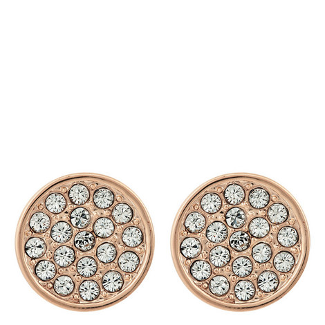 Dainty Sparklers Stud Earrings, ${color}