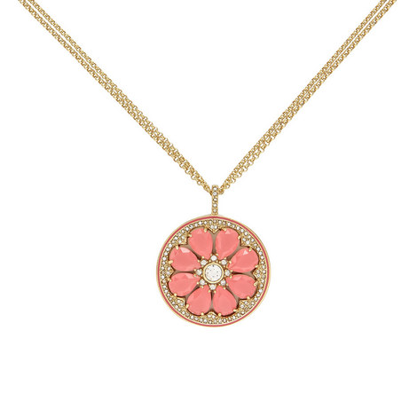 Out of Office Grapefruit Necklace, ${color}