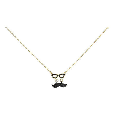 Dress the Part Moustache Pendant Mini, ${color}
