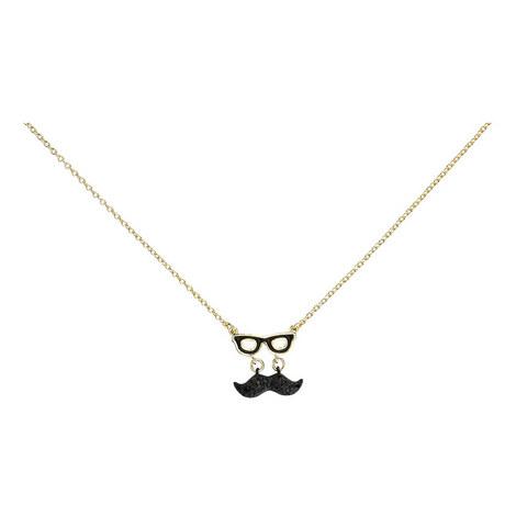 Dress the Part Moustache Pendant Mini, ${color}