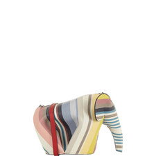 Striped Elephant Bag Mini