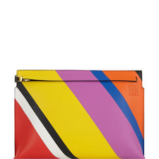 T Colour Block Pouch