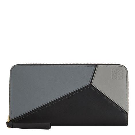 Puzzle Zip-Around Wallet, ${color}