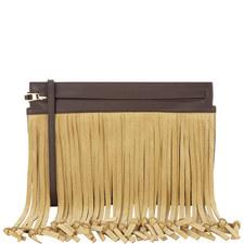 T Pouch Fringe Bag