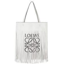 Vertical Tote Fringe Bag