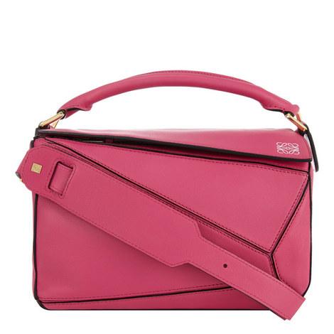 Puzzle Handbag Small, ${color}