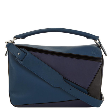 Puzzle Shoulder Bag Medium, ${color}