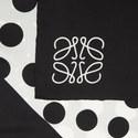 Multi-Dot Silk Scarf, ${color}