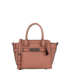 Swagger 21 Pebbled Leather Bag