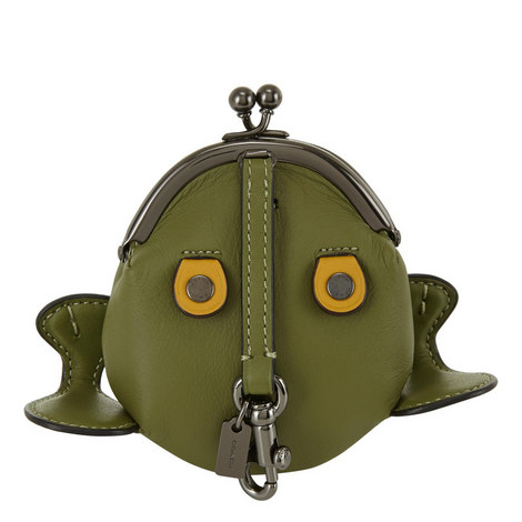 Frog Leather Coin Case, ${color}